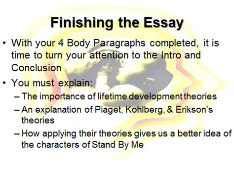 Writing introduction conclusion essay
